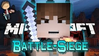 HEROBRINE'S CASTLE! Minecraft: Battle-Siege w/Mitch and Friends!