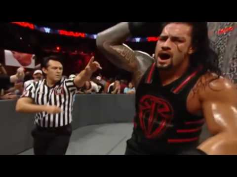 Đô vật mỹ mới nhất 2016   Roman Reigns vs Kevin Owens