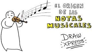 El origen de las notas musicales