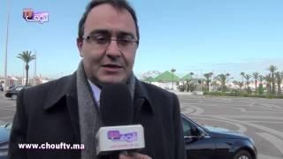 كريم غلاب حاضر في حفل تنصيب خديجة بن شويخ        خارج البلاطو