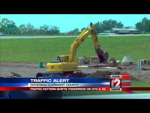 Major traffic change at I-275/OH-32 interchange