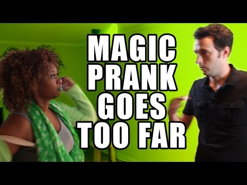 Magic Prank for GloZell Goes Too Far