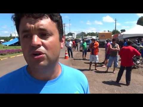 Caminhoneiro que se recusou a levar carregamento da JBS explica ação (Imagens Ederson Abi)