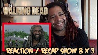 "THE WALKING DEAD SEASON 8 EPISODE 3 | REACTION & RECAP SHOW ""MONSTERS"""