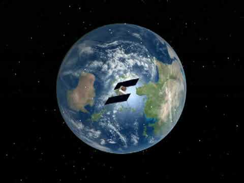 satellites orbiting earth youtube