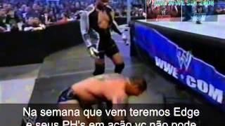 WWE Luta Livre Na TV SBT (Batista VS MVP)