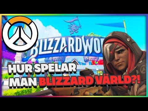 Hur Spelar Man Blizzard World? - Ana & Moira Placement Match Overwatch på Svenska Gameplay