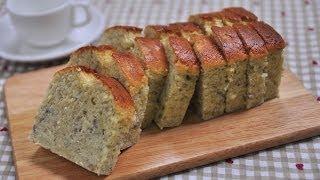 香蕉蛋糕 (無泡打粉) 。banana bread (no baking powder)
