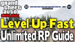 "GTA Online ""LEVEL UP FAST"" GUIDE (300k RP/Hour) [After 1"