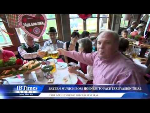 Bayern Munich Boss Hoeness to Face Tax Evasion Trial