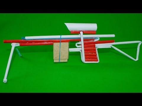 Cách làm súng ngắn bắn 5 viên đạn giấy