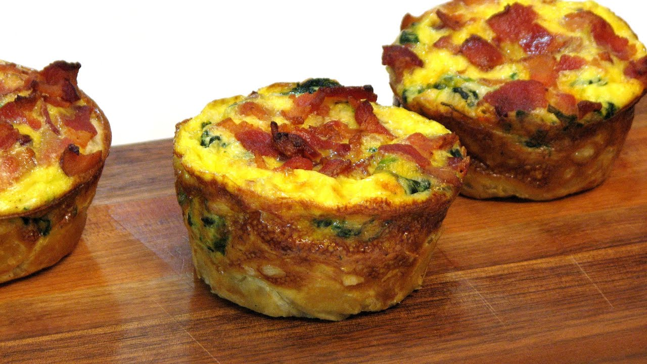 Mini Breakfast Souffles - Lynn's Recipes - YouTube