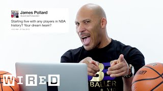 LaVar Ball Answers Basketball Questions From Twitter   Tech Support   WIRED