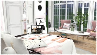 The Sims 4: Speed Build // FASHION LOVERS BEDROOM + CC Links