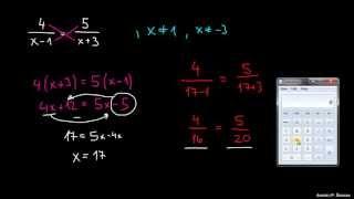 Racionalne enačbe