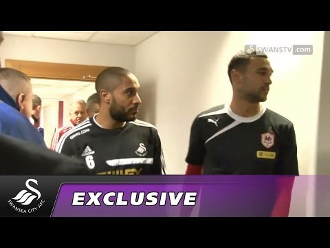 Swansea City Video: Matchday Cam - Cardiff City
