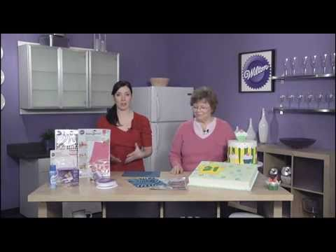 Wilton sugar sheets edible decorating paper youtube for Fomic sheet decoration youtube