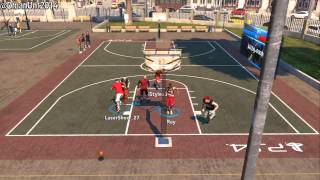 PS4 NBA 2K14: How To Catch Alley-Oops At The Park Xbox