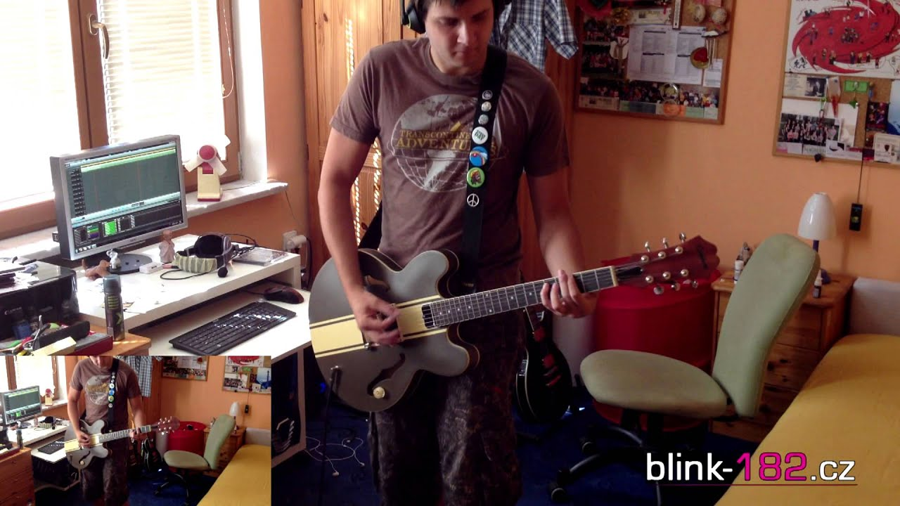 how to play always on guitar by blink 182