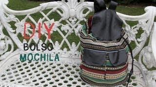 Cómo hacer un bolso Mochila