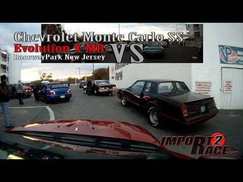 Monte Carlo SS vs Evolution X MR