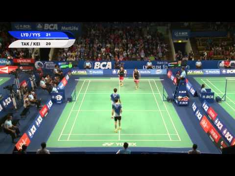 T.Kamura / K. Sonoda (JAPAN) VS L. Yong Dae / Y. Yeon Seong (KOREA)