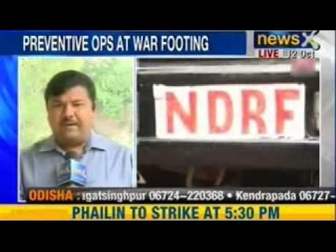 NewsX : India's East coast braces for massive cyclone, landfall feared at Ganjam, Odisha