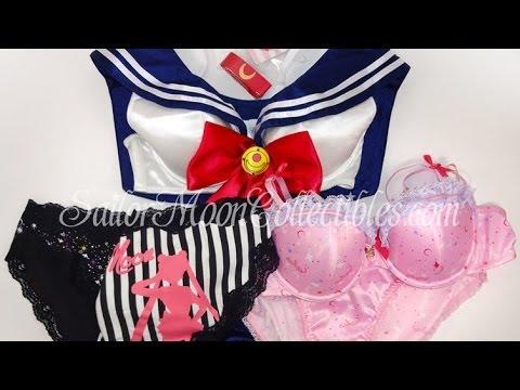 Sailor Moon Peach John Lingerie Merchandise Review 2014