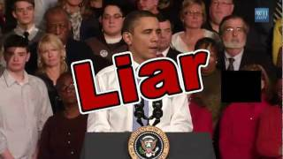Who Else Than Obama Is Able To Lie 16 Times In 3 Minutes