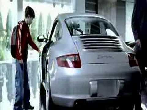 Porsche commercial, A porsche commercial spot http://www.porscheTV.be