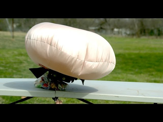 Airbag Deploying in Slow Mo - The Slow Mo Guys