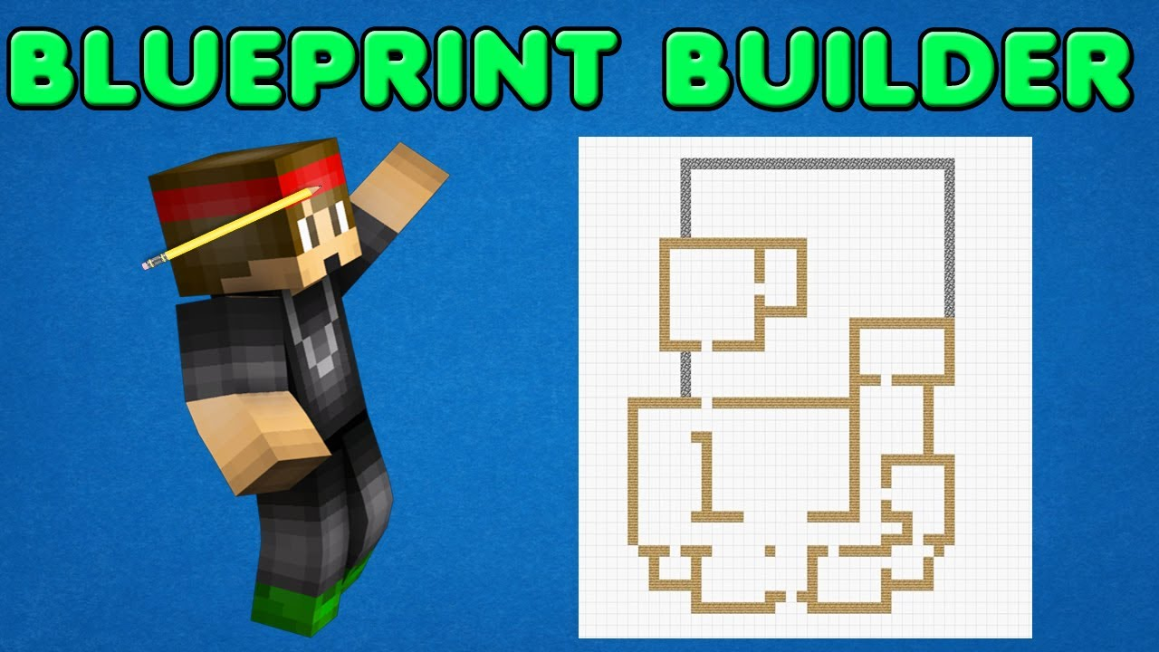 Minecraft Plugin - Blueprint Builder - Make Blueprints That Build