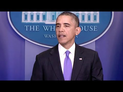 President Obama on Typhoon Haiyan