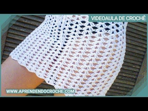 1º Parte - Saída de Praia de Croche Brasileirinha - Aprendendo Crochê