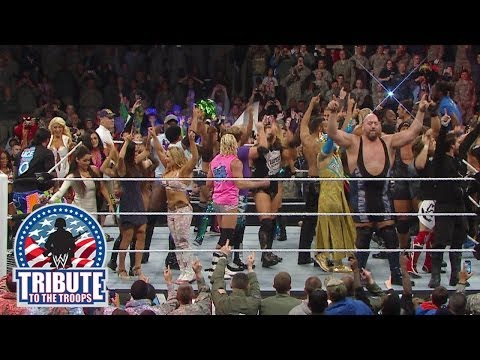 WWE Superstars & Divas thank the U.S. Military: Tribute to the Troops 2013
