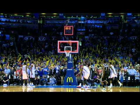 Taco Bell Buzzer Beater: Joe Johnson vs The OKC Thunder