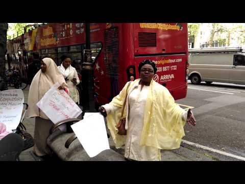 Bring back our girls protest. London.