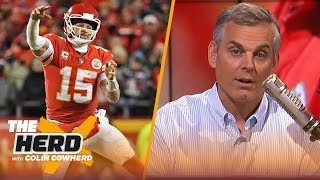 Colin Cowherd: NFL has adapted for Brady, Mahomes' career may end up like Marino   NFL   THE HERD