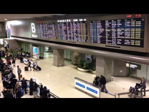 Rumiko Varnes in Narita Airport Announcement