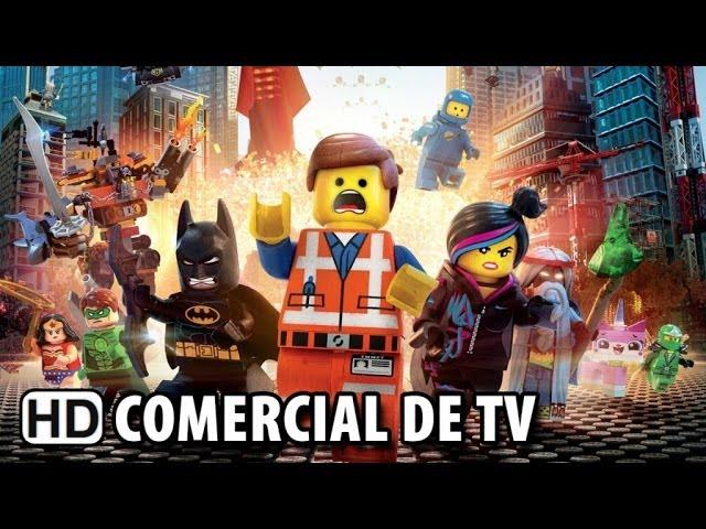 Uma Aventura LEGO - Comercial de TV #2 Dublado (2014) HD