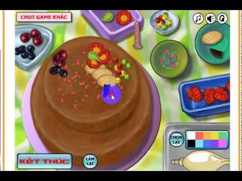 Làm Bánh gato Pháp [game.24h.com.vn]