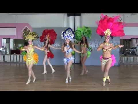 Brazilian Samba Dancing Performance in San Diego