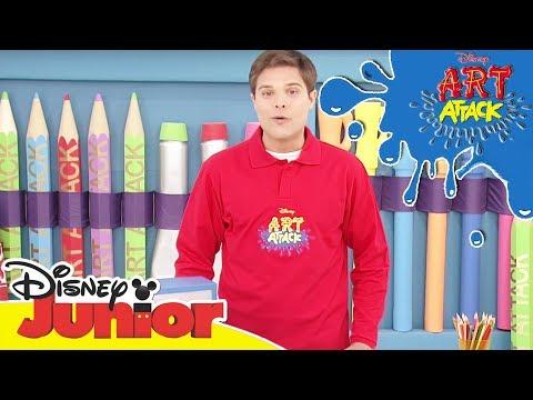 Art Attack Bastelclip #18 - Schattentheater | Disney Junior