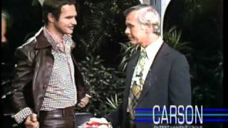 Johnny Carson: Whipped Cream, Burt Reynolds and Dom DeLuise, 1974