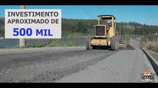 OBRAS - Pavimentação - Estrada Antonio Perli - Serra Negra/SP