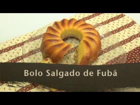 RECEITA: BOLO SALGADO DE FUBÁ