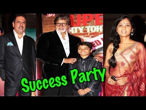 Bhootnath Success Party With Amitabh Bachchan, Boman Irani