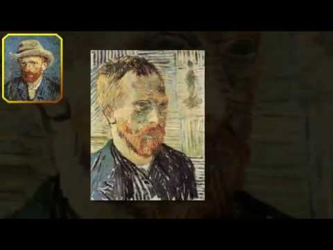 Self Portraits by Vincent van Gogh -  A Dutch Post-Impressionist Painter