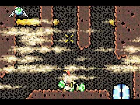 Super Mario Advance 3: Yoshi's Island [Walkthrough] 6-6