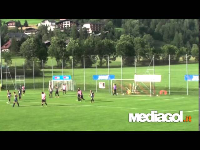 Palermo-Alpe Adria 3-0 a Bad Kleinkirchheim 20-07-2014 by Mediagol.it